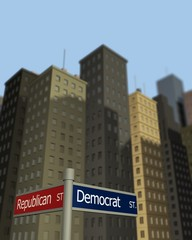 Democrat & Republican Streets