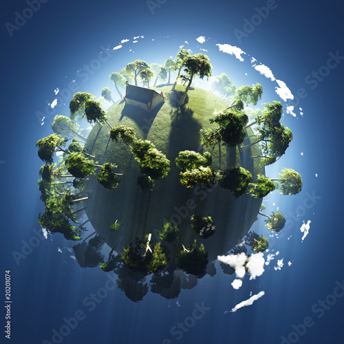 summer on small green planet