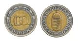 100 Forint - hungarian money poster