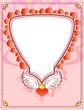 corazon con alas y corona