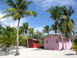 Small and Coloured Homes on the Coast of Santo Domingo