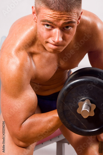 amateur bodybuilder training