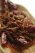 Peperoncino rosso secco e in polvere
