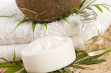 Coconut oil for alternative therapy poster