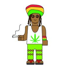 Personnage jamaïcain