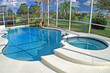canvas print picture - Swimming Pool and Spa