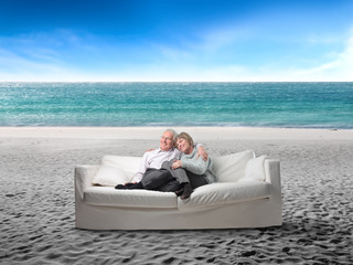 Relax at the seaside