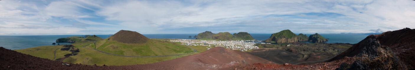 Panorama d'Heimaey 2