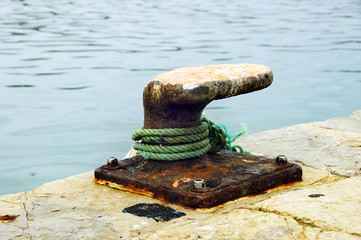 mooring of vessels