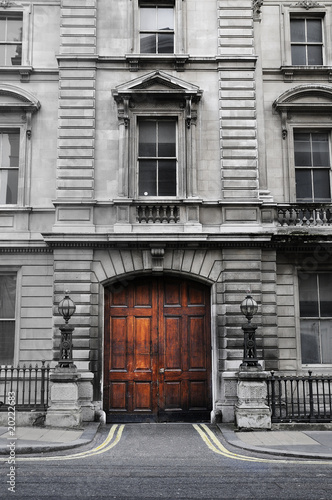 wooden door entrance