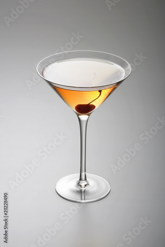 Rob Roy or Manhattan cocktail