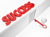 3D guy gains access to its success (3D happyman isolated series) poster