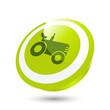 traktor landwirtschaft fahrzeug zeichen symbol