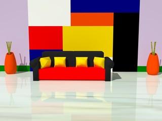 Salon estilo Miró
