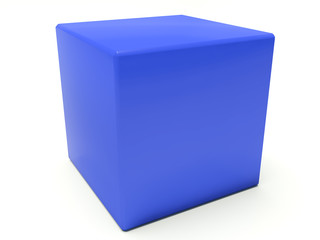 Blue building brick