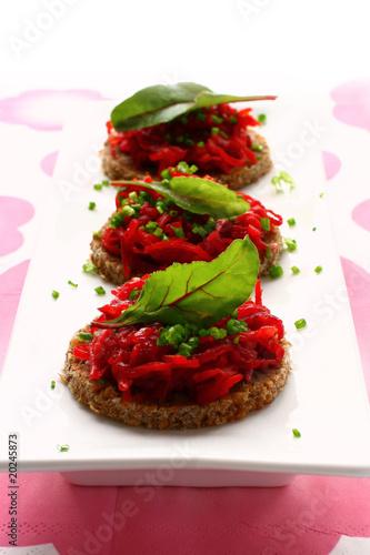 beet appetizers