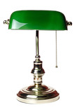 classic bankers lamp poster
