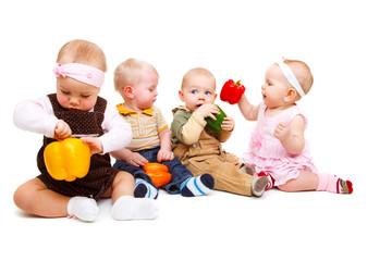 Vegetarian babies