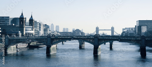 London Thames landscape