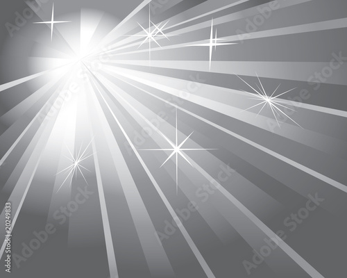 shine silver background