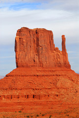 The Mitten in Monument Valley