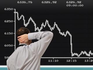 Börsenverlauf nach unten