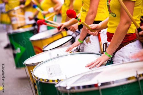 Leinwanddruck Bild samba drums