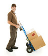 Delivery Man or Mover with Dolly