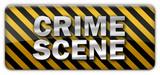 Crime Scene Sign poster