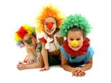 Fototapety Funny clowns