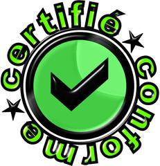 certifié conforme