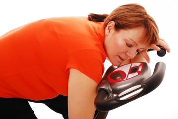 Sleeping during workout