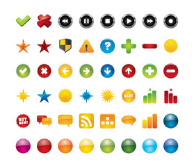 48 vector web icons for your business artwork