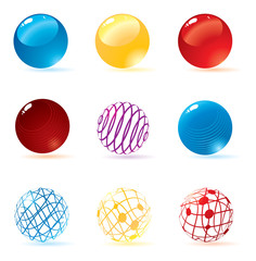 Cool vector spheres