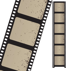 Vector filmstrip. Element for design