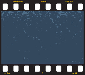 Vector filmstrip. Element for design.