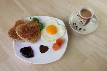Liebesfrühstück