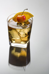 Old Fashioned cocktail