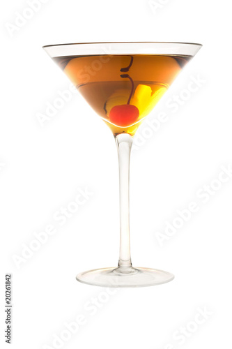 Rob Roy or Manahattan cocktail