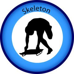 button winterspiele skeleton