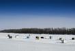 Ice Fishing Sheds