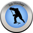 winter game button ice hockey