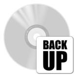 cd backup poster