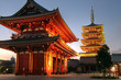 Senso-ji Temple, Asakusa, Tokyo, Japan (HDR Image)