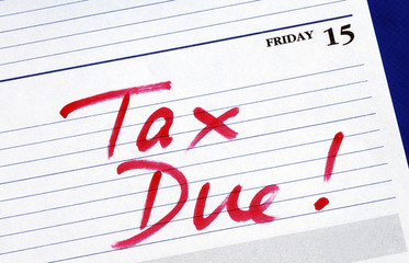 April 15th is the due date for the income tax returns