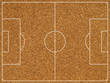 Fußball-Pinwand