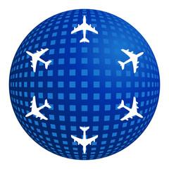 Welt-Flüge