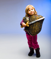 Kind mit dem Schwert