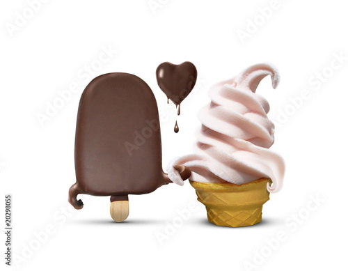 lovely couple of ice creams