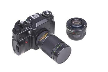 Old SLR camera.